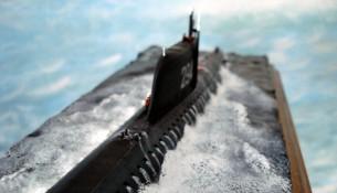 Самодельная игрушечная модель (масштаб: 1\350) подлодки К-19 (автор: Marco Fin)