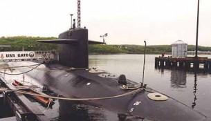 USS Gato на приколе